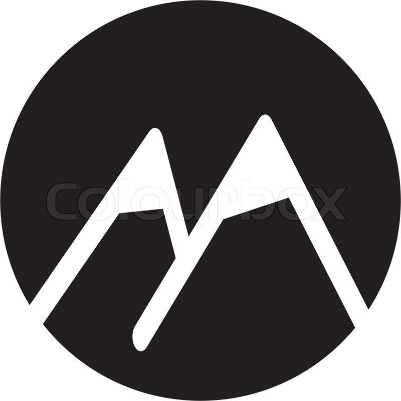 Mountain icon   Stock Vector   Colourbox