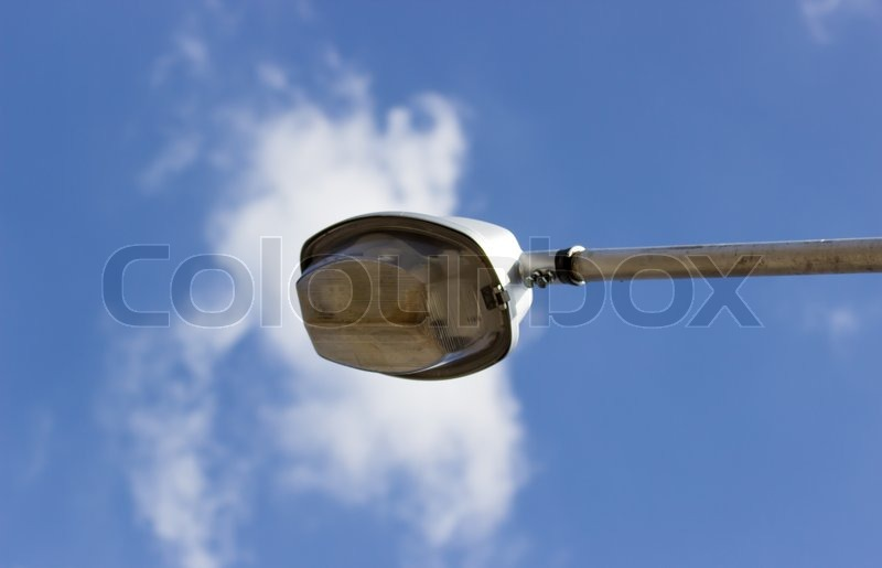 Street Light and blue sky, stock photo