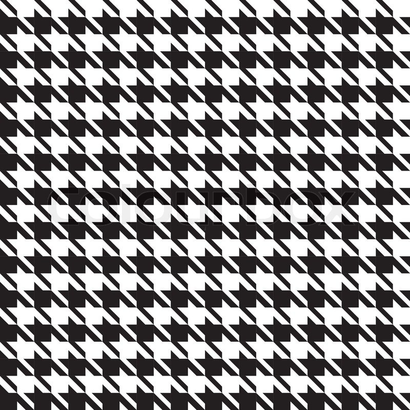 houndstooth seamless pattern stock vector colourbox tooth clip art black and white tooth clipart png