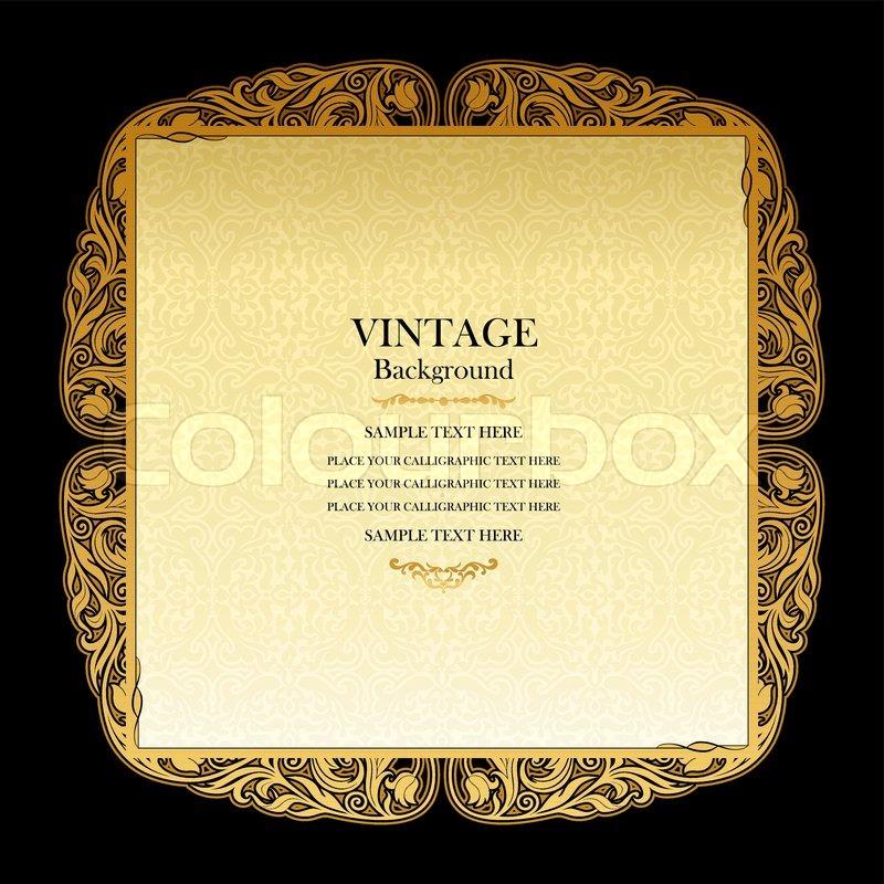 vintage background elegant wedding invitation card victorian style