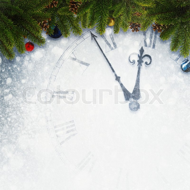 Countdown to New Year, abstract holidays backgrounds for your design, stock photo