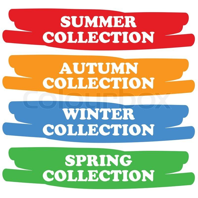summer winterlich vordere vektorgrafik colourbox. Black Bedroom Furniture Sets. Home Design Ideas