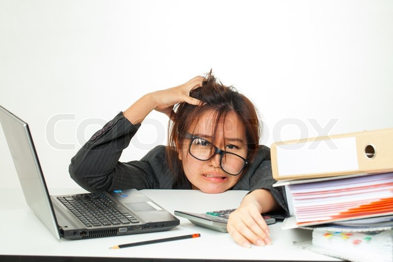 Image result for woman working hard