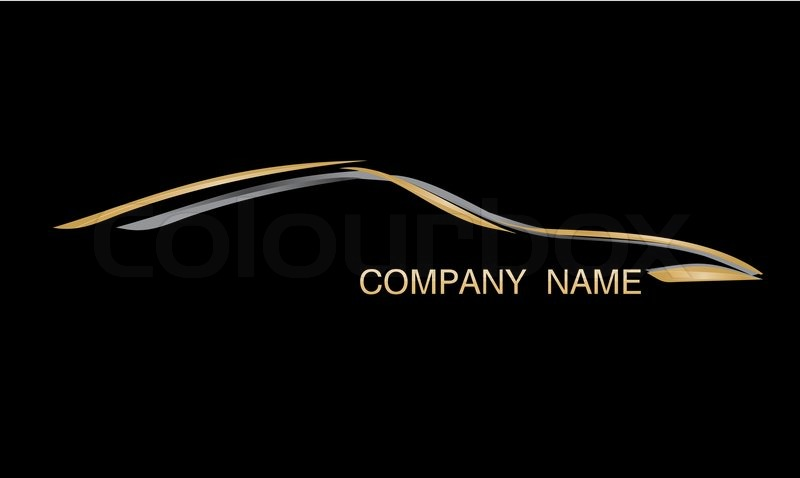 Luxury Car Company Logo Stock Photo Colourbox