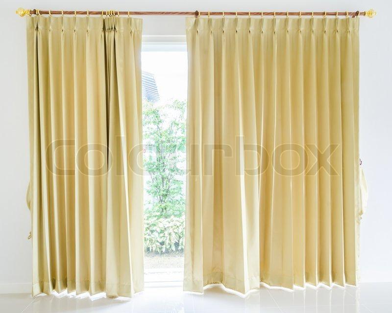 Curtain, stock photo