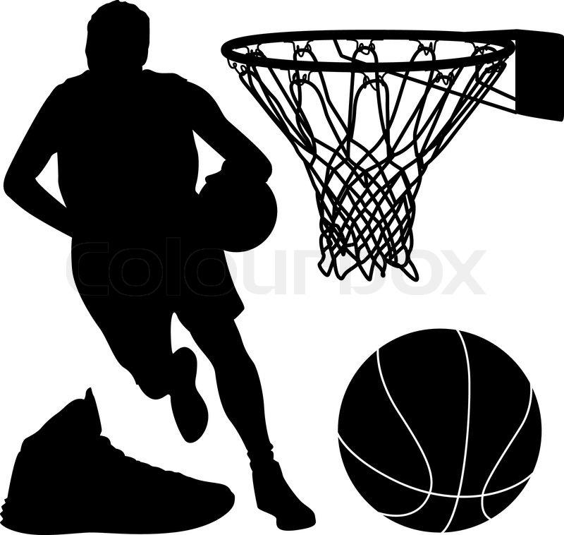 Basketball Shoe Vector