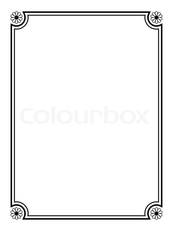Deco Abstrahieren Diplom Vektorgrafik Colourbox