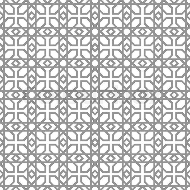 Abstract, modern background, geometric seamless patterns