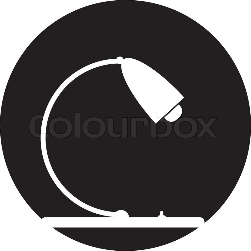 Conference Table Icon 39 Vector Table Lamp Icon 39