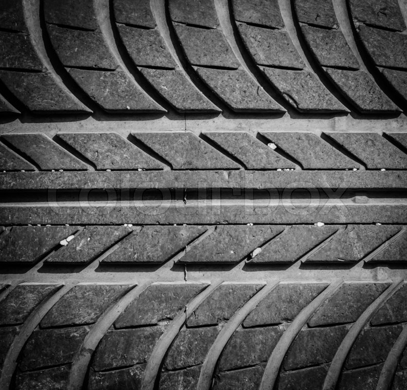 Best Snow Tires >> Tire texture using as background   Stock Photo   Colourbox