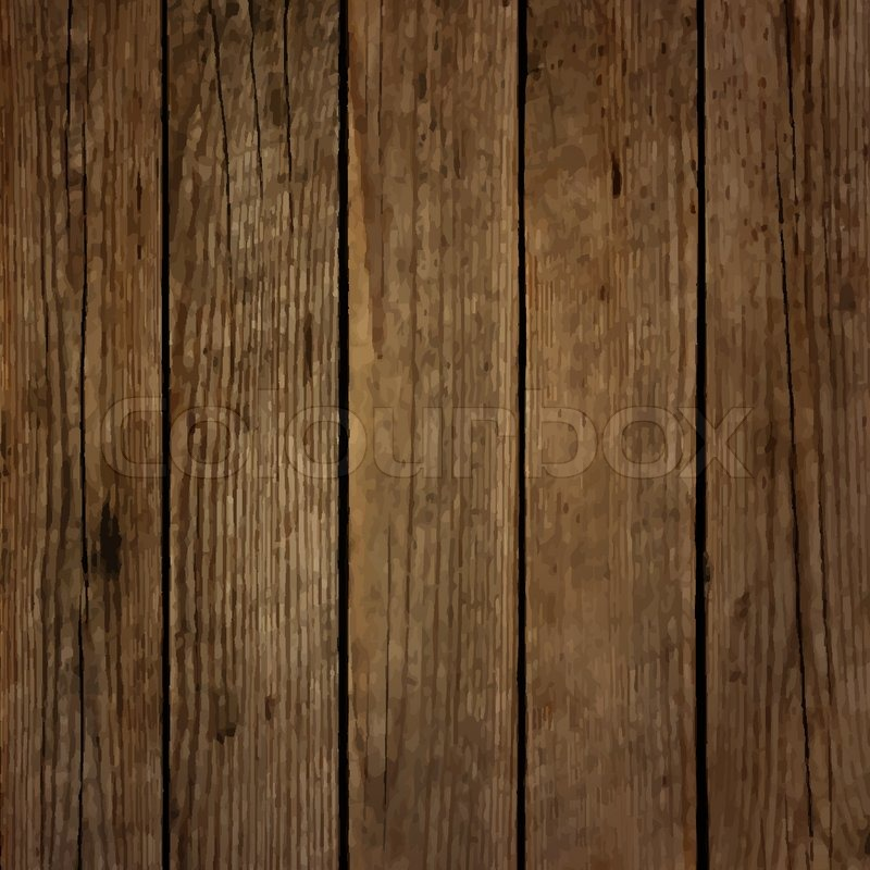 Dark wood board vector background | Stock Vector | Colourbox
