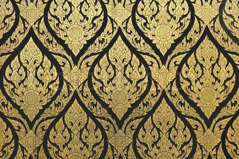 gold thail ndisch begrifflich stockfoto colourbox. Black Bedroom Furniture Sets. Home Design Ideas