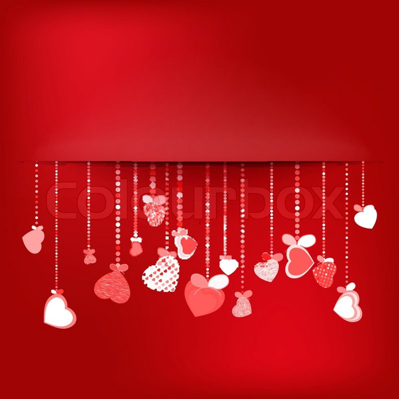 Valentines Day Background EPS 10 Vector File Included Stock