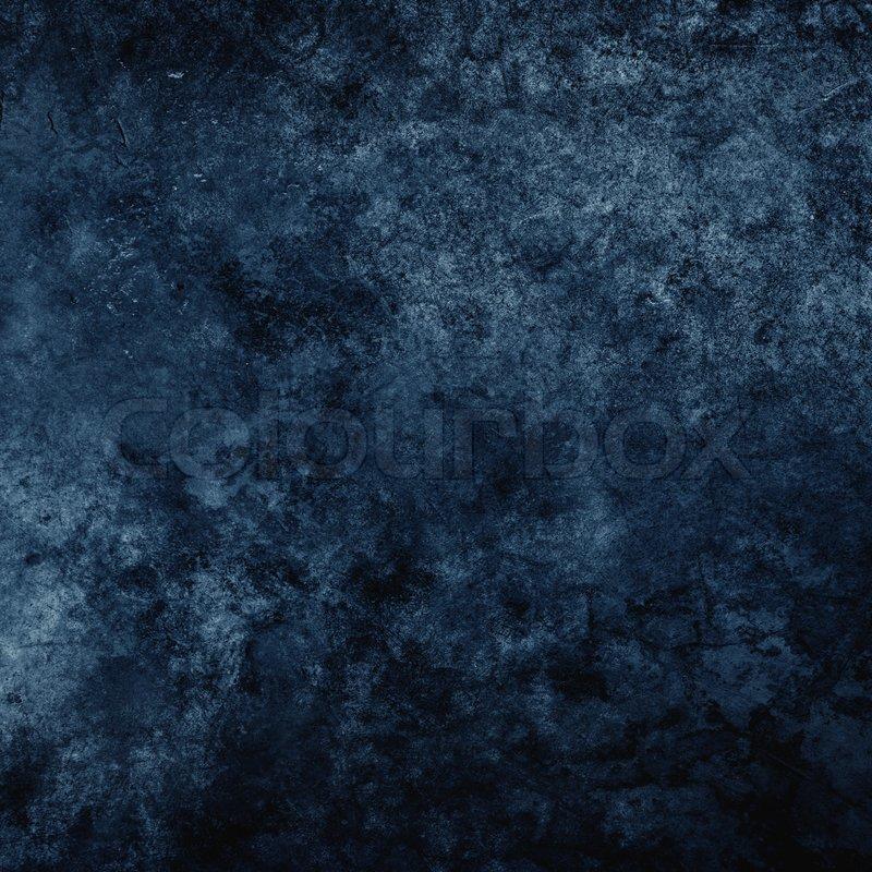 blue dark concrete texture background stock photo On blue concrete texture