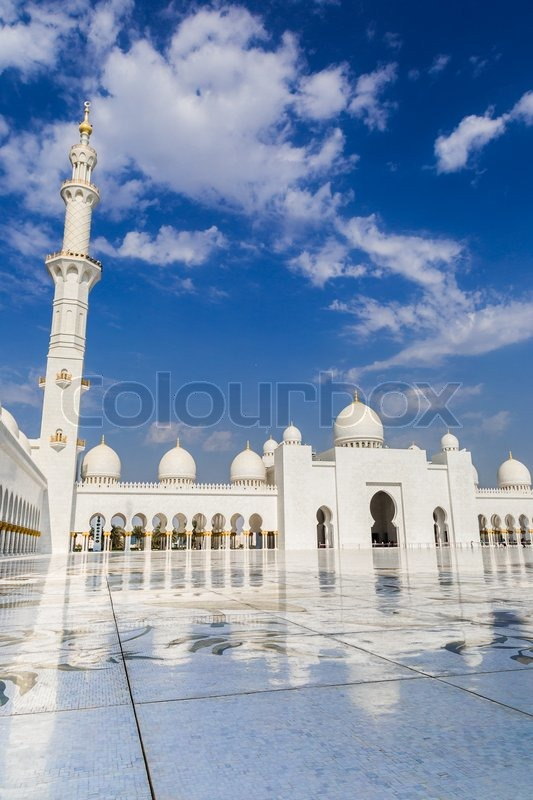 Exterior: ABU DHABI, UAE - JUNE 11: The Sheikh ...