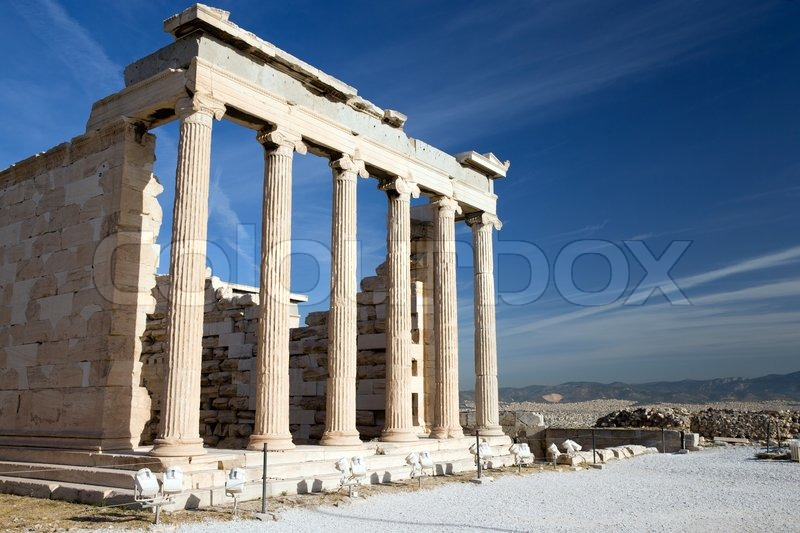 a research on the parthenon construction and importance A temple to athena the parthenon was built in the doric style of architecture, but included features from the ionic style it was also larger and more richly decorated than any other.