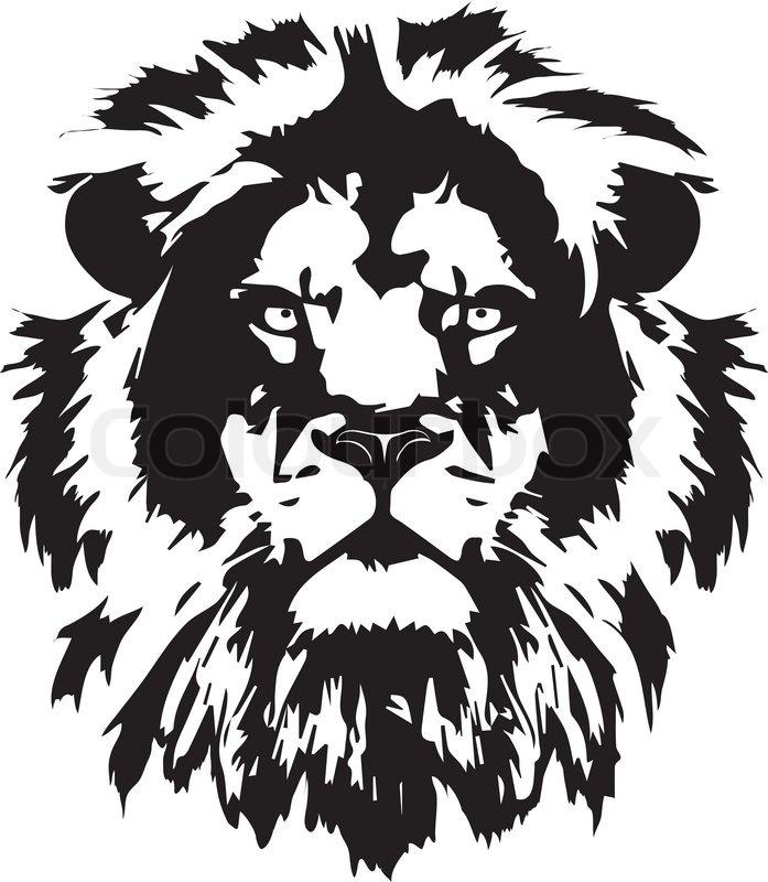 Lion Head Black Tattoo In My Interpretation Inspired From