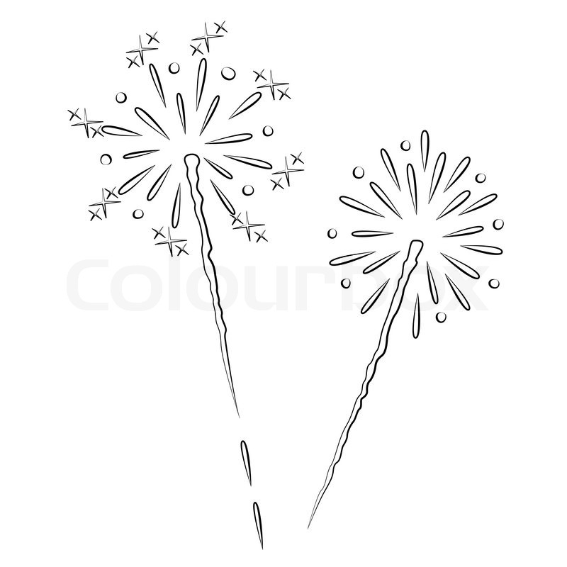 how to draw fireworks in indesign