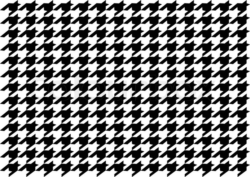Dog Tooth Pattern Stock Vector Colourbox