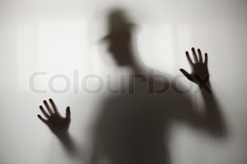 Blurry shadow, stock photo