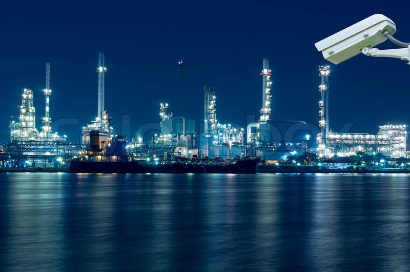 Image result for Oil and gas refineries secure