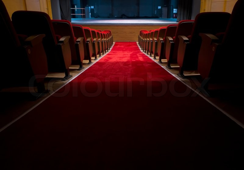 red seats in a theater and opera stock photo colourbox