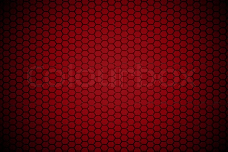 Dark Red Hexagon Steel Texture Stock Photo Colourbox