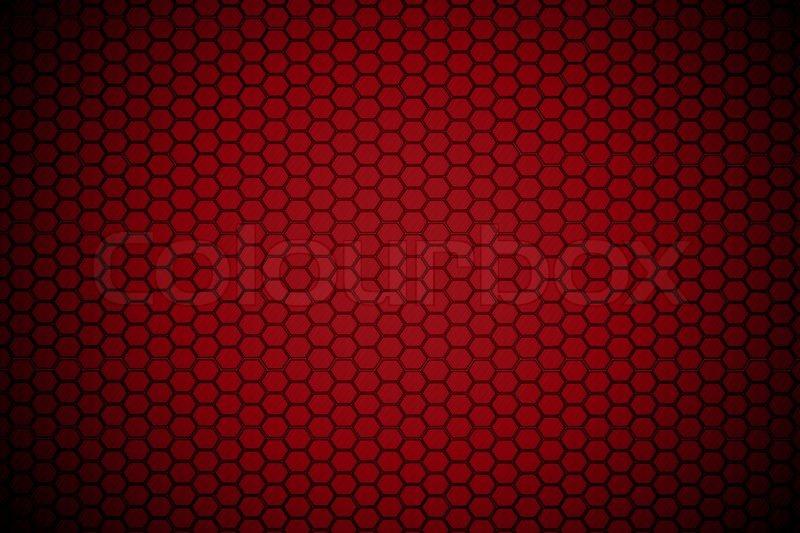 dark red hexagon steel texture