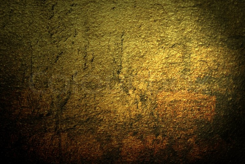 Abstract background goldish stone wall texture | Stock Photo | Colourbox