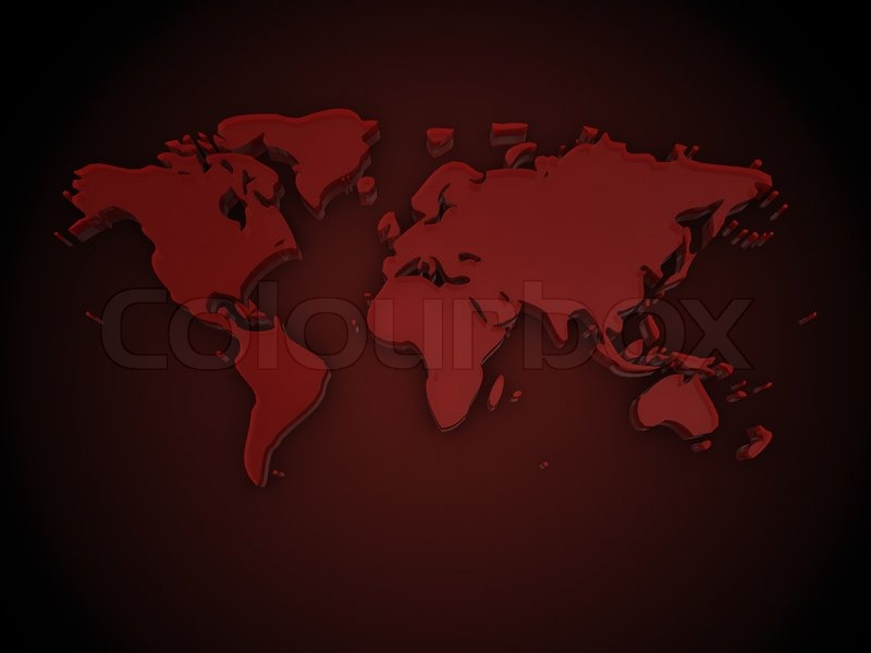 3d illustration of red glass world map over dark background 3d illustration of red glass world map over dark background stock photo colourbox gumiabroncs Images