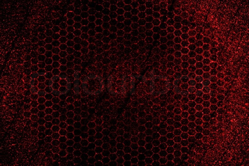 Red hexagon texture abstract background | Stock Photo ...