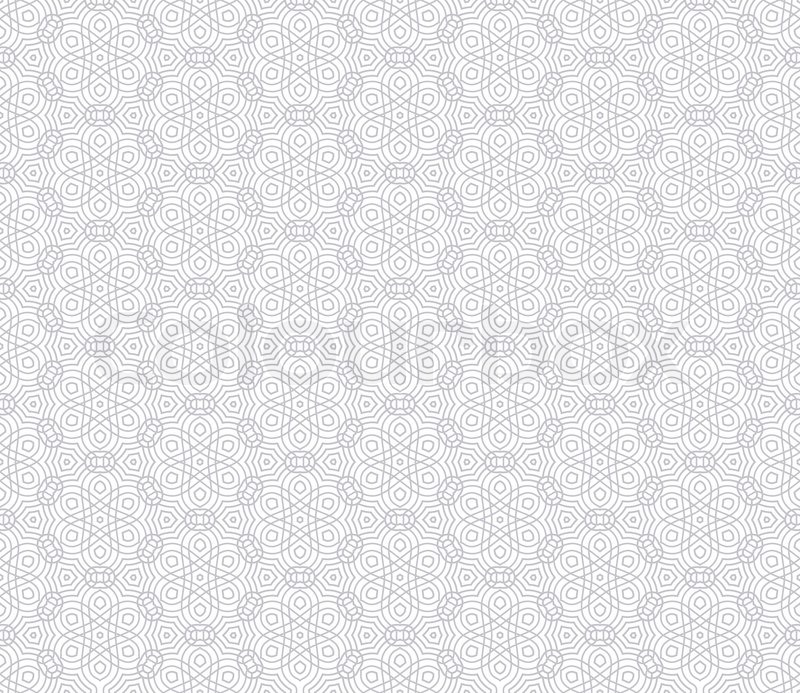 Abstract, modern background, geometric seamless pattern, islam style ...
