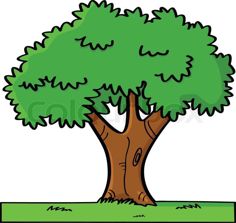 Cartoon baum vektorgrafik colourbox - Baum comic bilder ...
