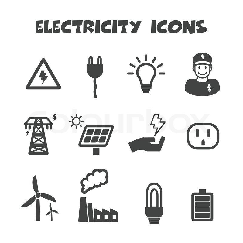 Ausgezeichnet Symbole Der Elektrizität Galerie - Der Schaltplan ...