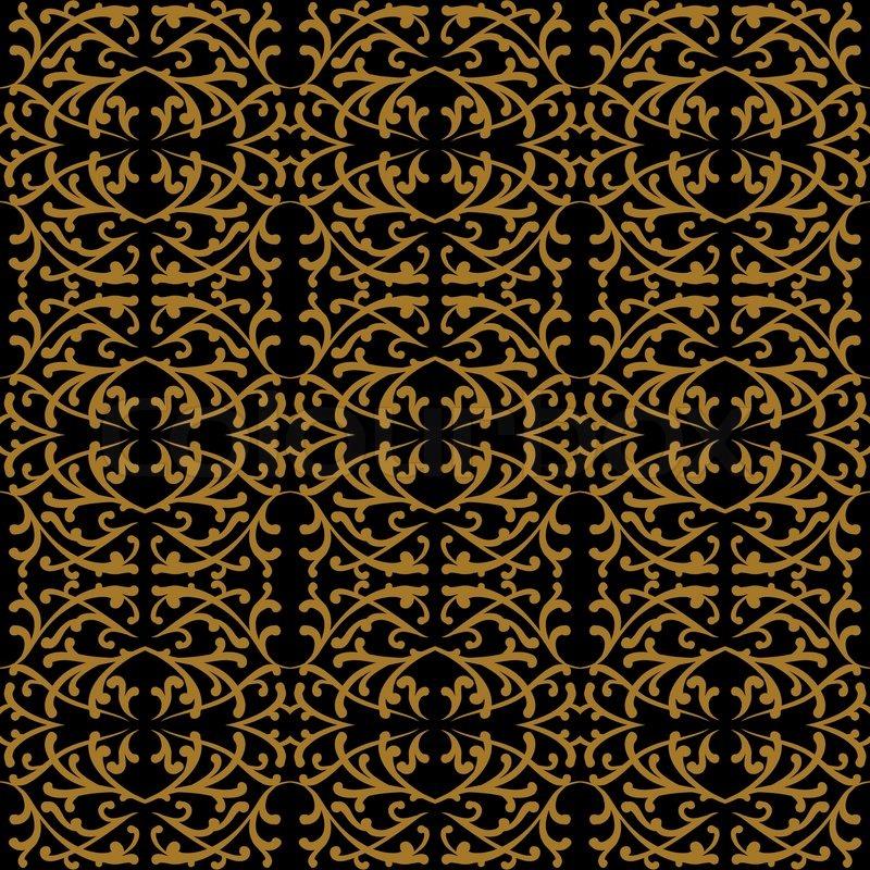 Lineare muster im barock und rokoko stil vektorgrafik colourbox - Design im rokoko stil prachtvollste kunstepochen ...