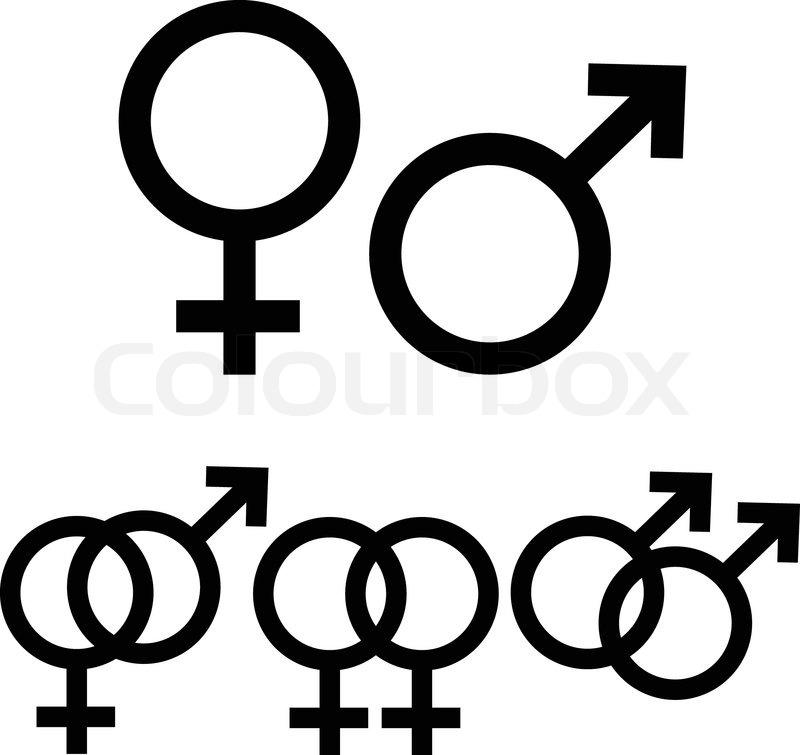 Symbol Männlich Word