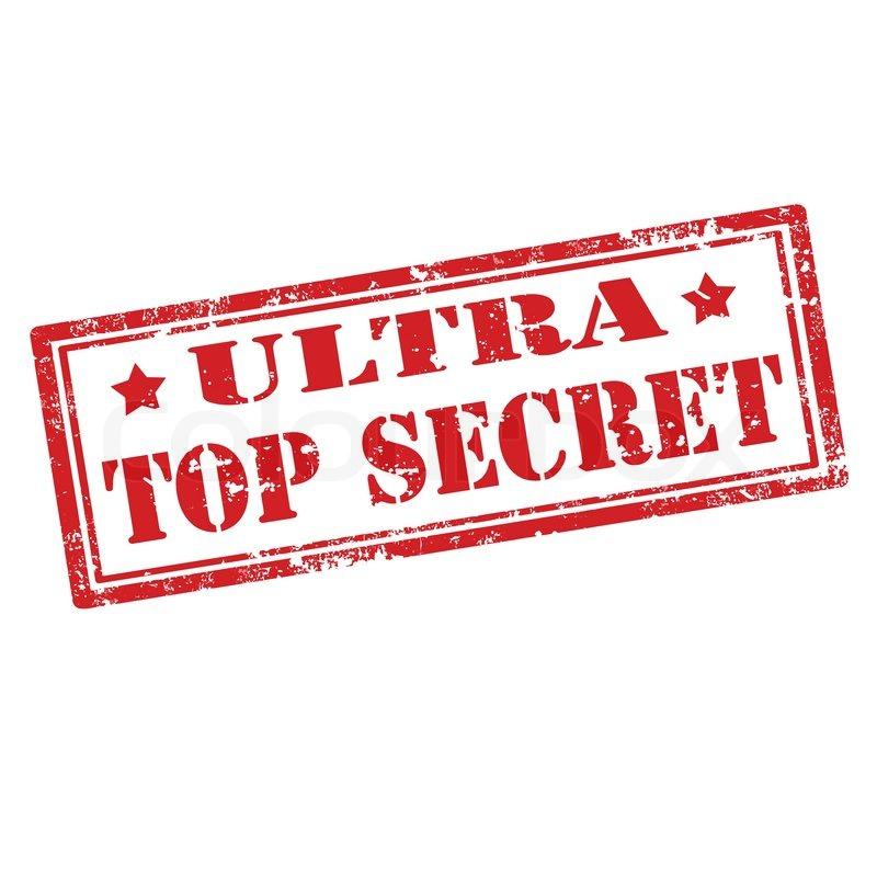 ultra top secret stempel vektorgrafik colourbox. Black Bedroom Furniture Sets. Home Design Ideas