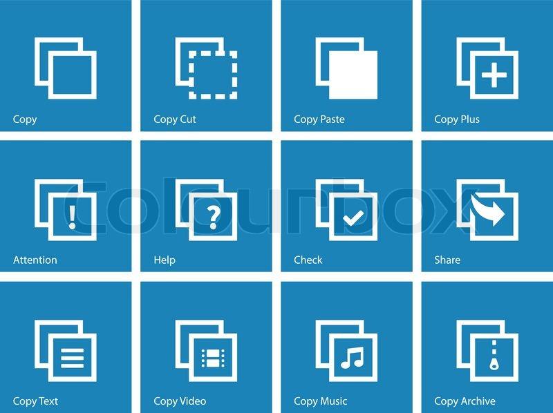 Icons copy paste
