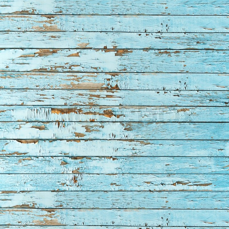 Old Blue Wood Plank Background Stock Photo Colourbox