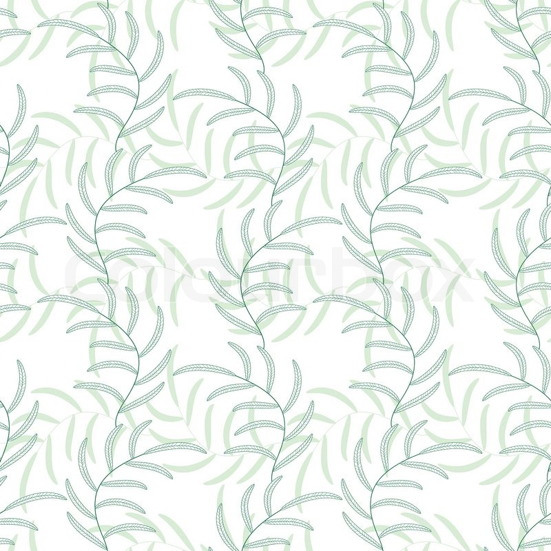 leaf floral abstract seamless vector background pattern fabric