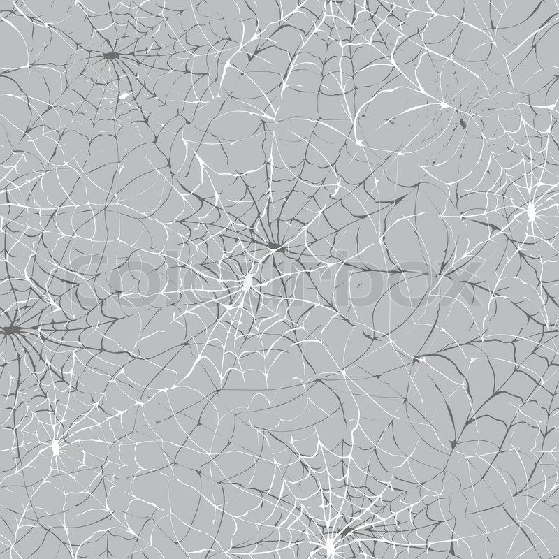 Spider web seamless halloween background texture cobweb ...