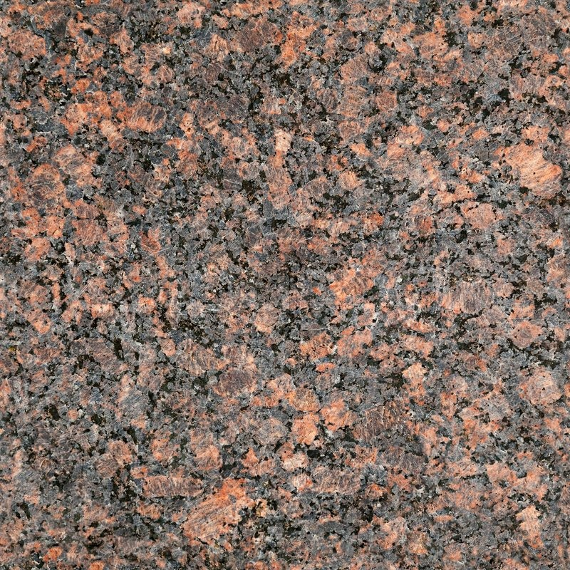Red Granite Gravel : Seamless red granite stone closeup background texture