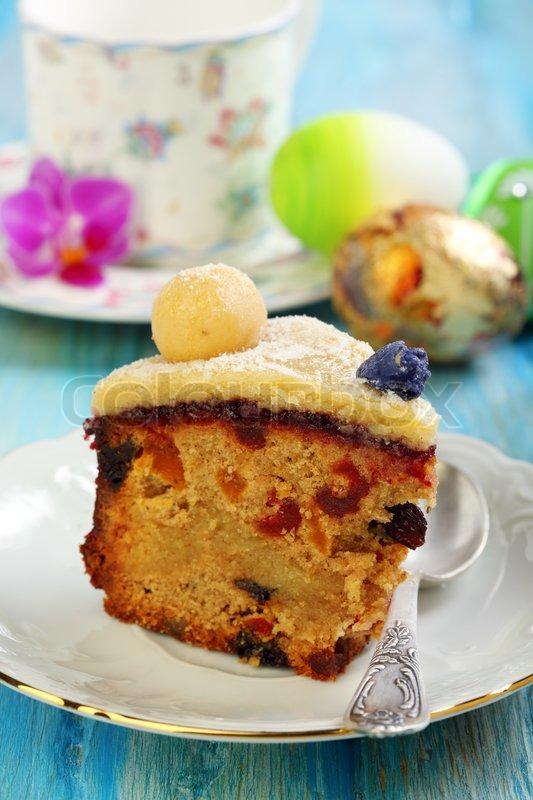 Englisch Ostern Kuchen Urlaub Fruhstuck Stockfoto Colourbox