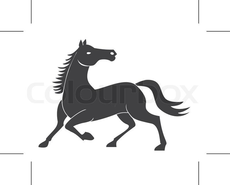 Horse Power Stock Vector Colourbox