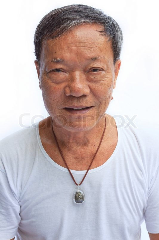Old asian man