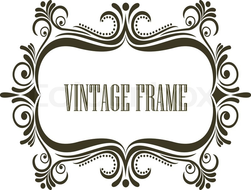 Großartig Vintage Verzierten Bilderrahmen Ideen - Rahmen Ideen ...