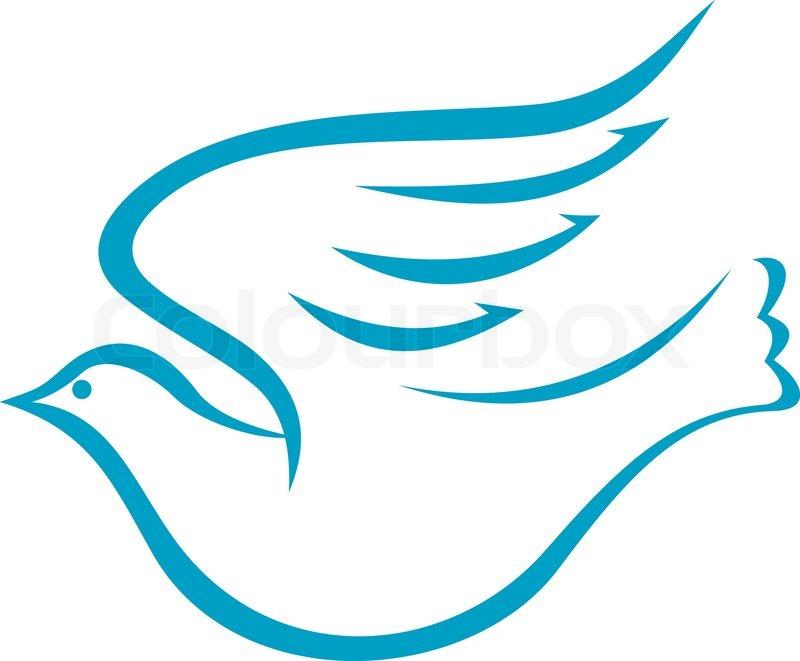 Dove bird peace sign - photo#8