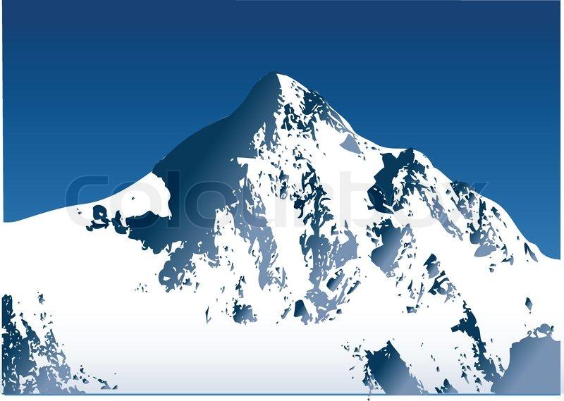 MOUNTAIN, vector