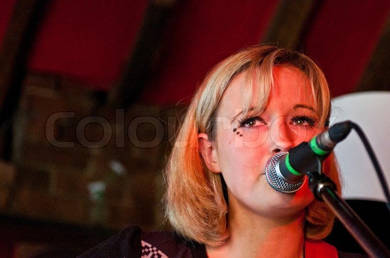 READING - APRIL 27, 2013: <b>Sophie Henderson</b> performs at Milk in Reading, <b>...</b> - 9176162-sophie-henderson