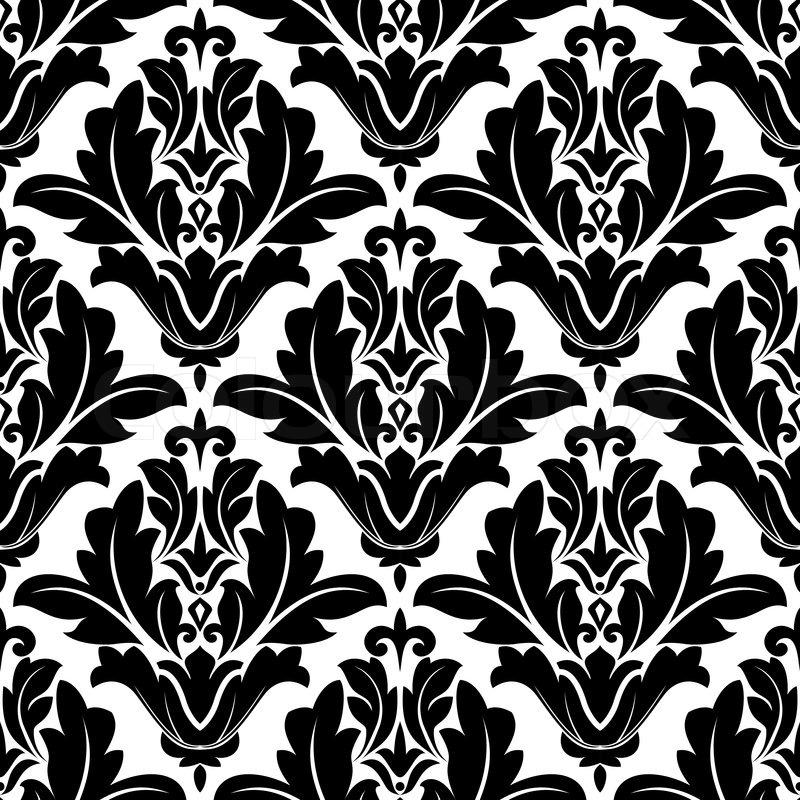 Black And White Home Decor Fabric